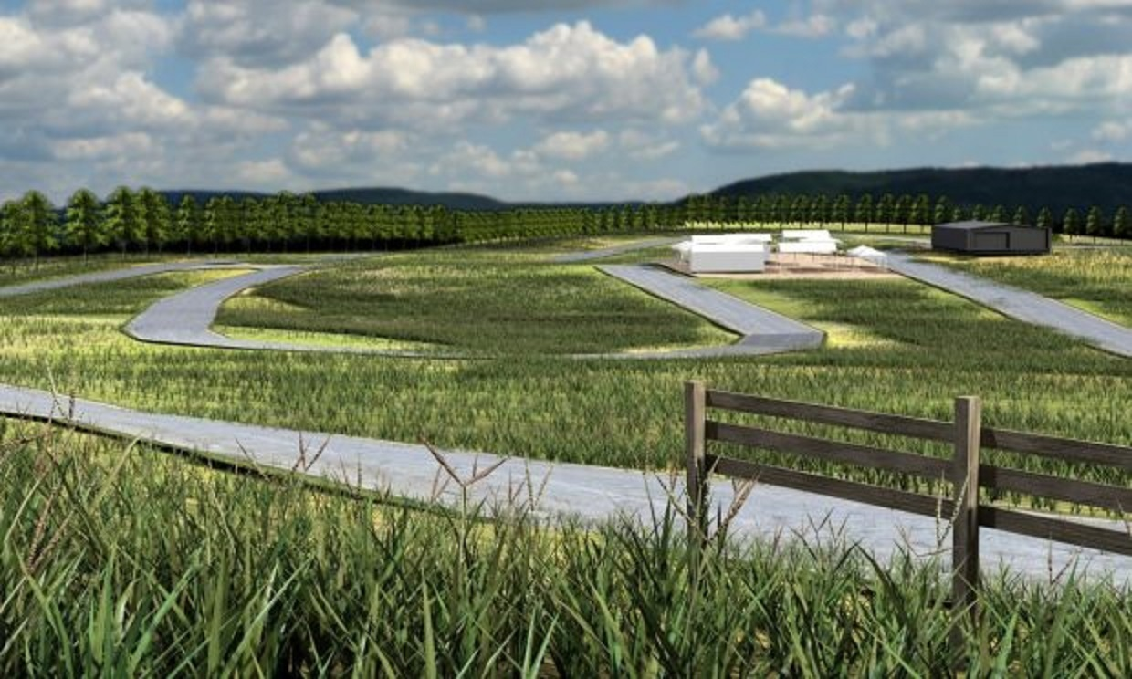 An artist's impression of the proposed closed loop cycle circuit.