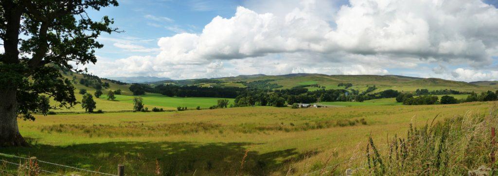 Crieff countryside.
