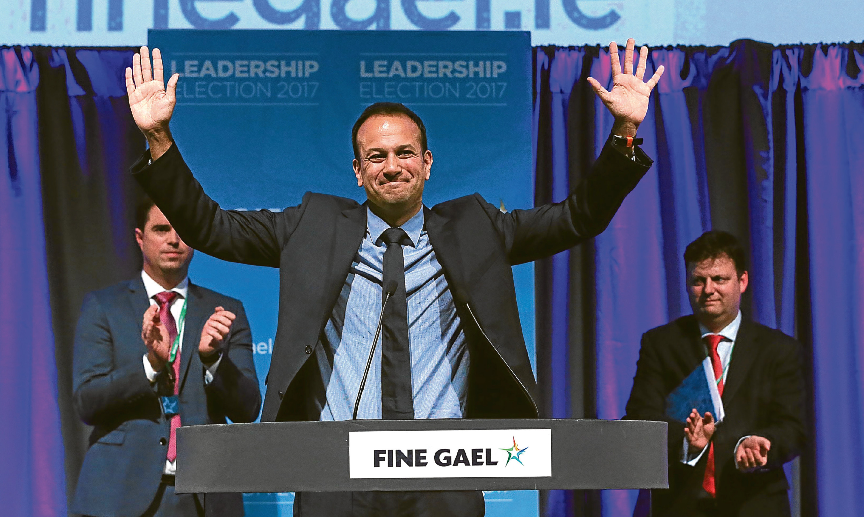 Leo Varadkar, the gay son of an Indian immigrant, celebrates being elected leader of Fine Gael. To Alex, he is a symbol of how countries can change.