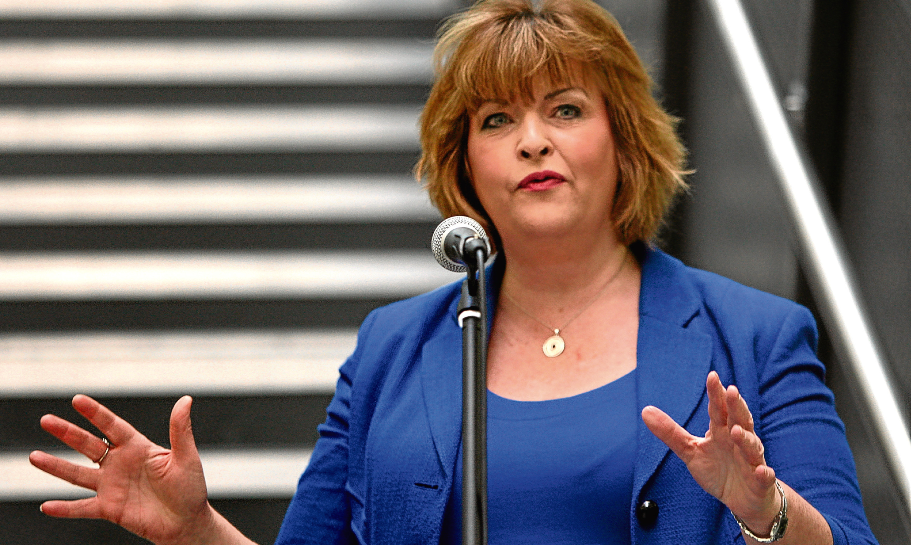 Culture Secretary Fiona Hyslop.