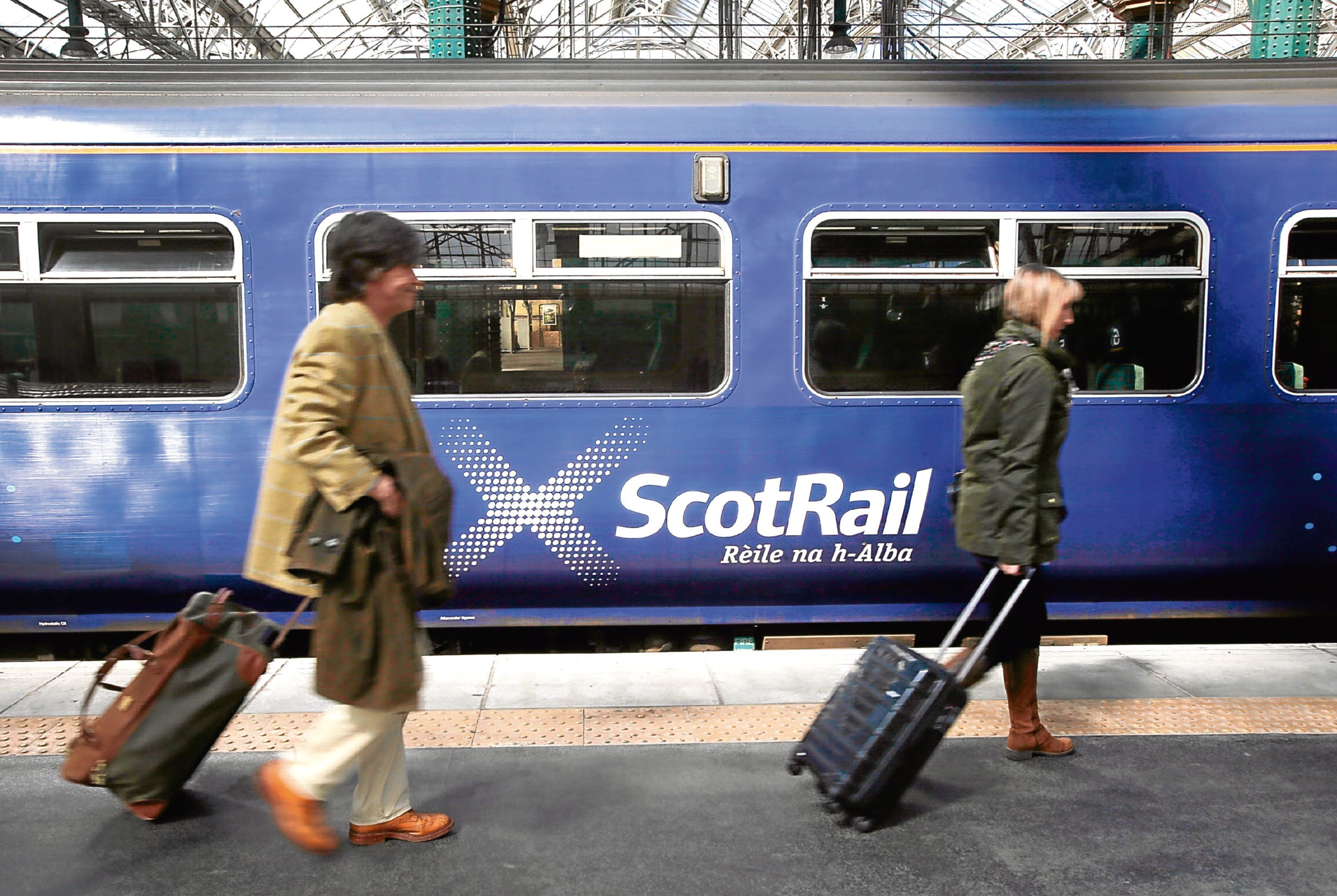 Train staff will be encouraged to use one of 230 body cameras that ScotRail is buying.