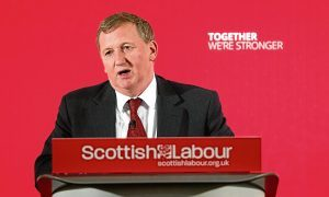 Scottish Labour deputy leader attends rally to 'bring the pro-independence left together'