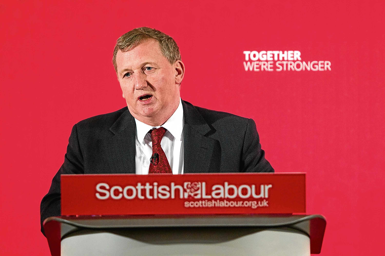 Alex Rowley is interim Scottish Labour leader