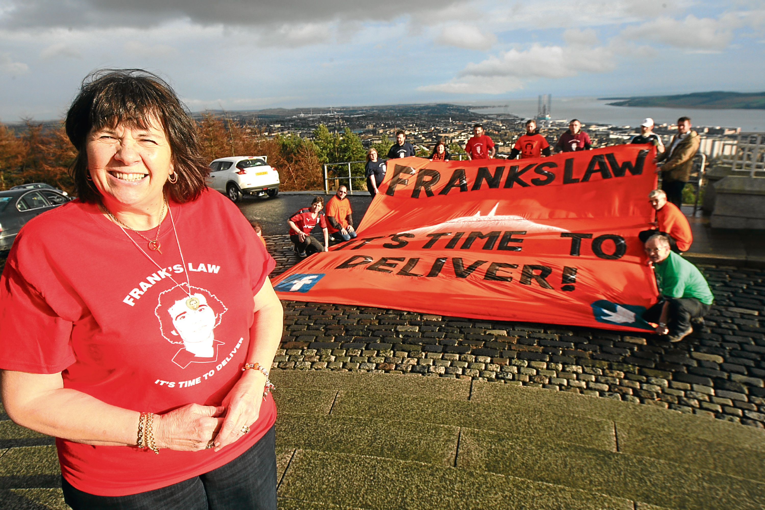 Frank's Army have supported Mrs Kopel since the campaign was launched.