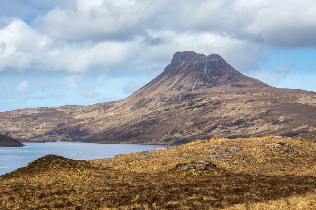 The iconic Stac Pollaidh.