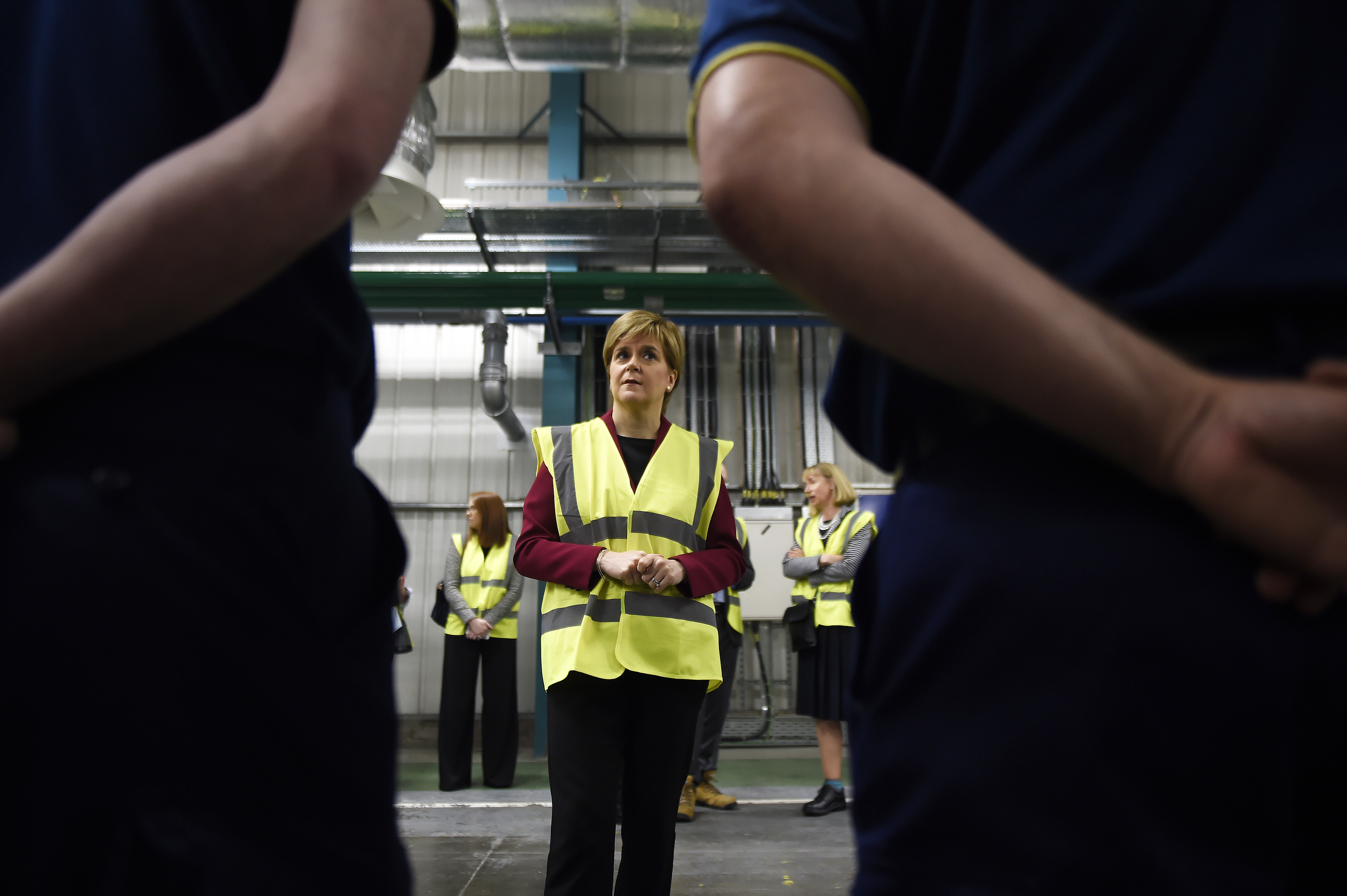 Nicola Sturgeon has said her government will help those affected by the job cuts to find alternative employment.