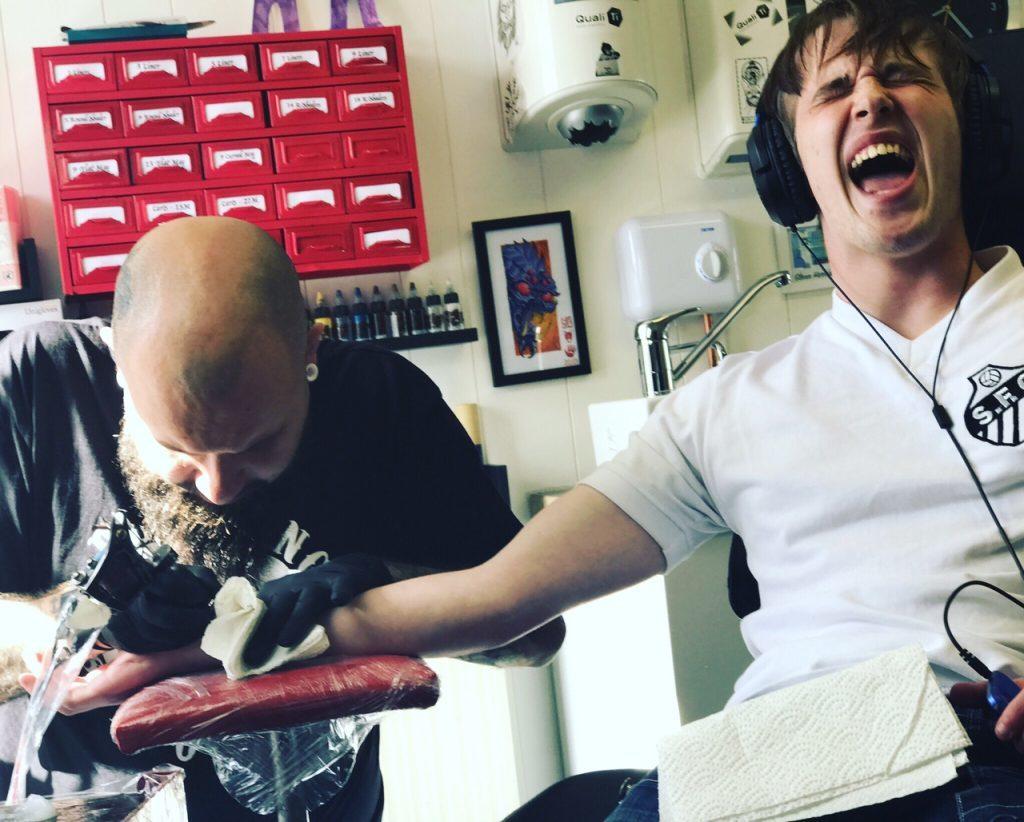 Andrew Buchan Pele tattoo 3