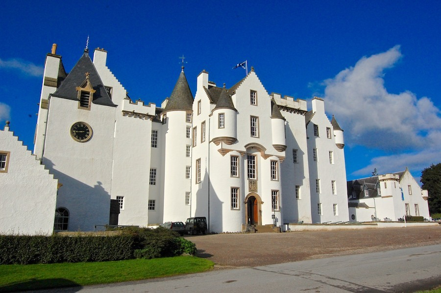 Blair Castle, winner of the Tourist Attraction of the Year title at the 2017 Scottish Hospitality Awards.