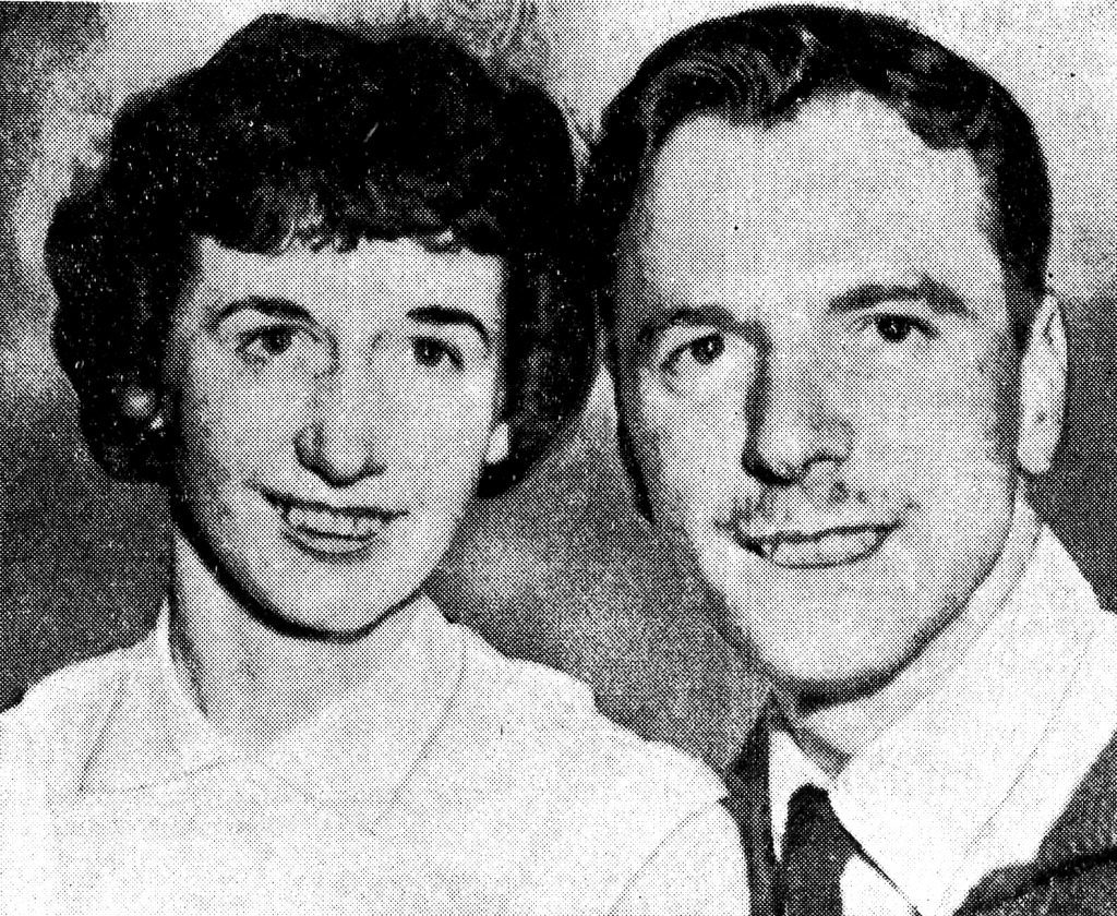 Jim and Rhoda Smith pictured in 1958.