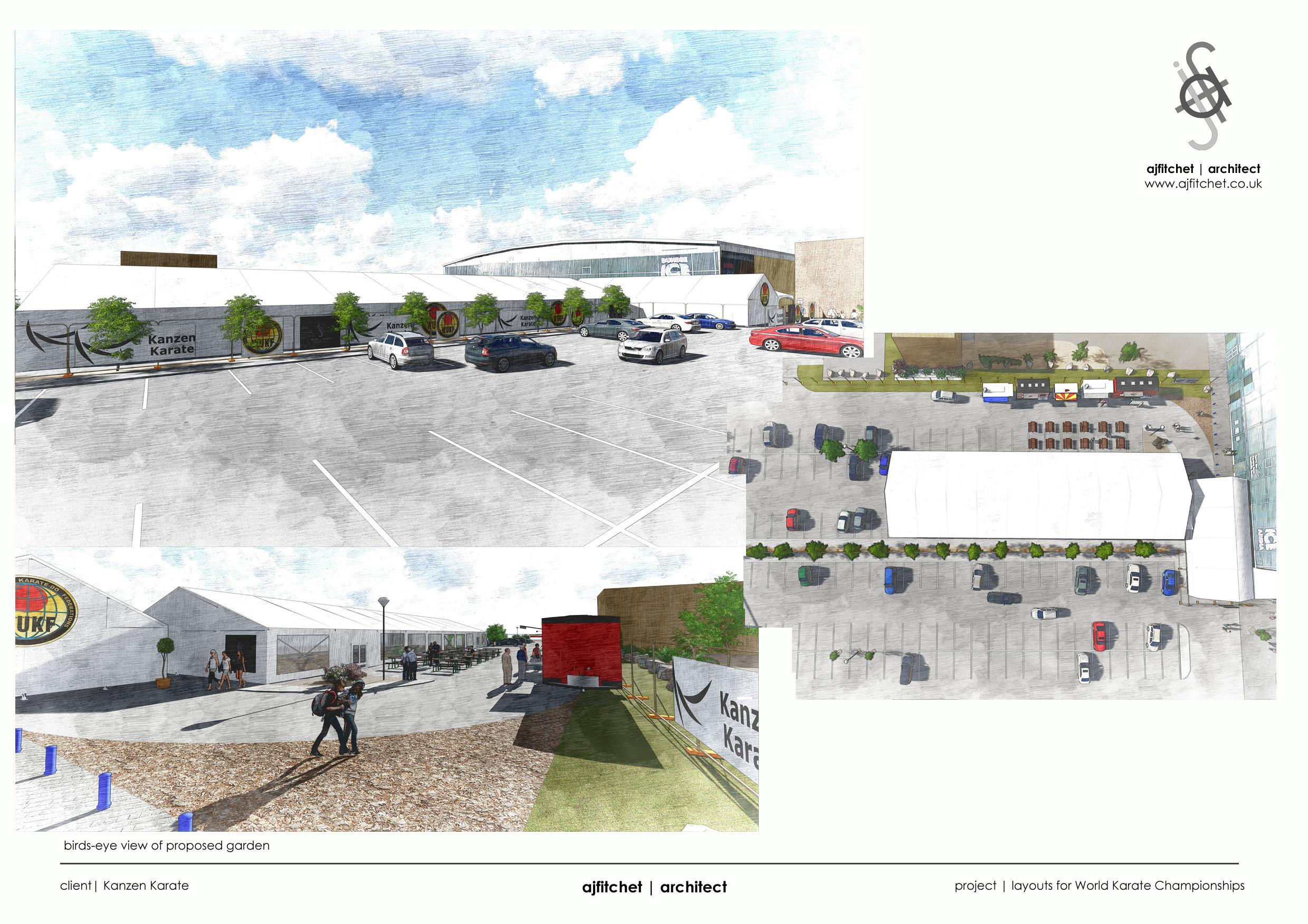 Plans for the marquees at Dundee Ice Arena
