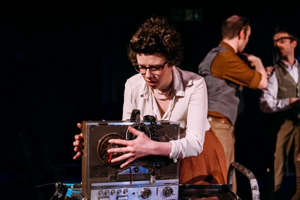 A scene from Daphne Oram's Wonderful World of Sound