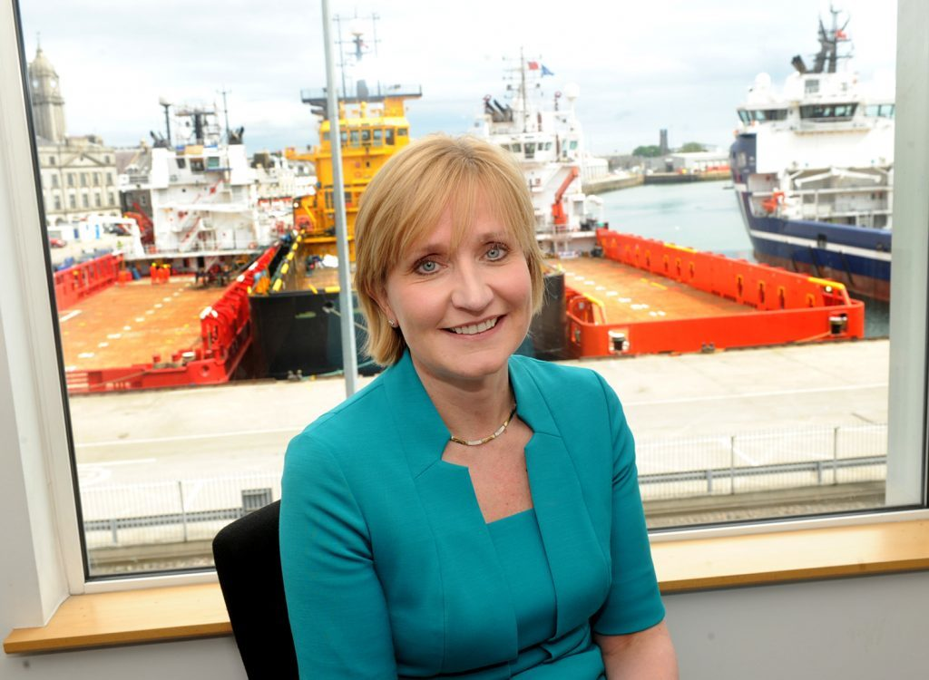 Deirdre Michie, Chief Executive of Oil & Gas UK,