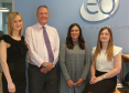 Paula McAllister, David Morrison, Sandi Drummond and Rachel Bell of EQ