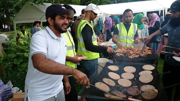 The event is a celebration to mark the end of Ramadan.