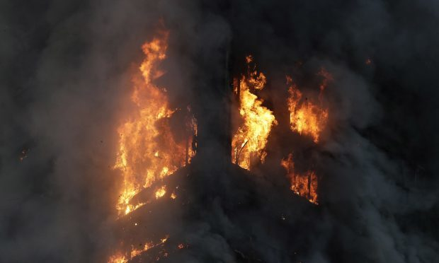 Deadly blaze tears through 27-floor London high-rise