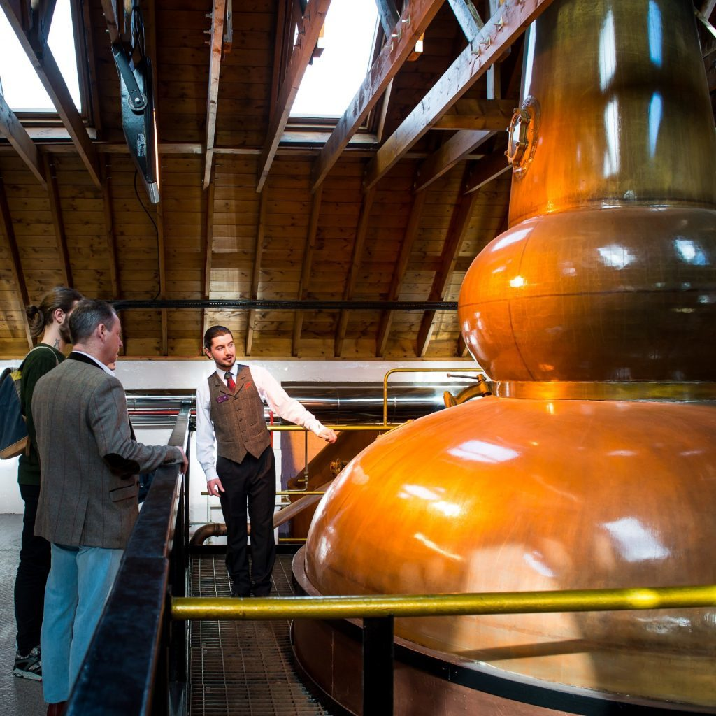 The Famous Grouse Experience, Glenturret Distillery, Crieff.