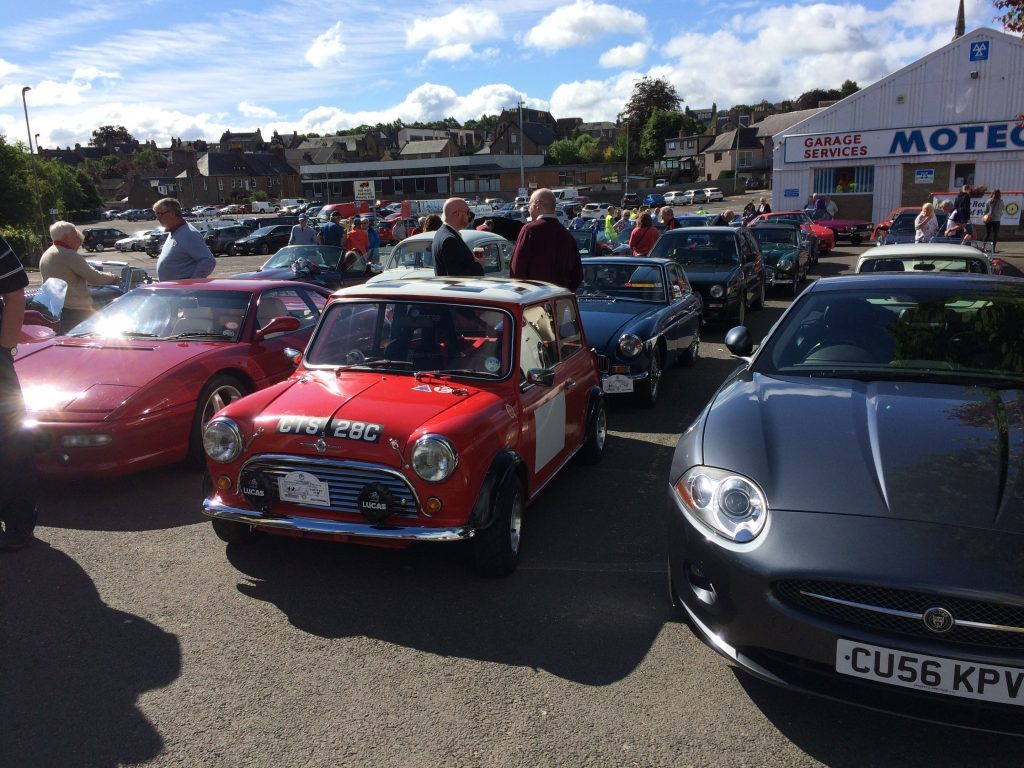 Strathmore Classic Car run 2017