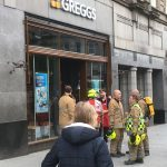 Firefighters called to Dundee City Centre Greggs