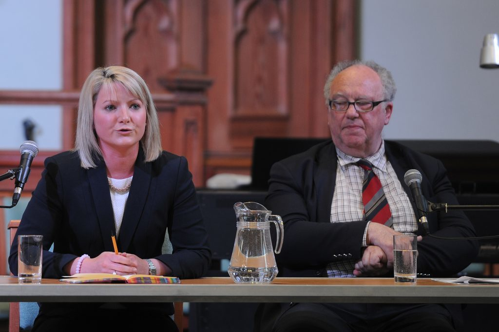 Kirstene Hair (Conservative) and Clive Sneddon (Liberal Democrats).