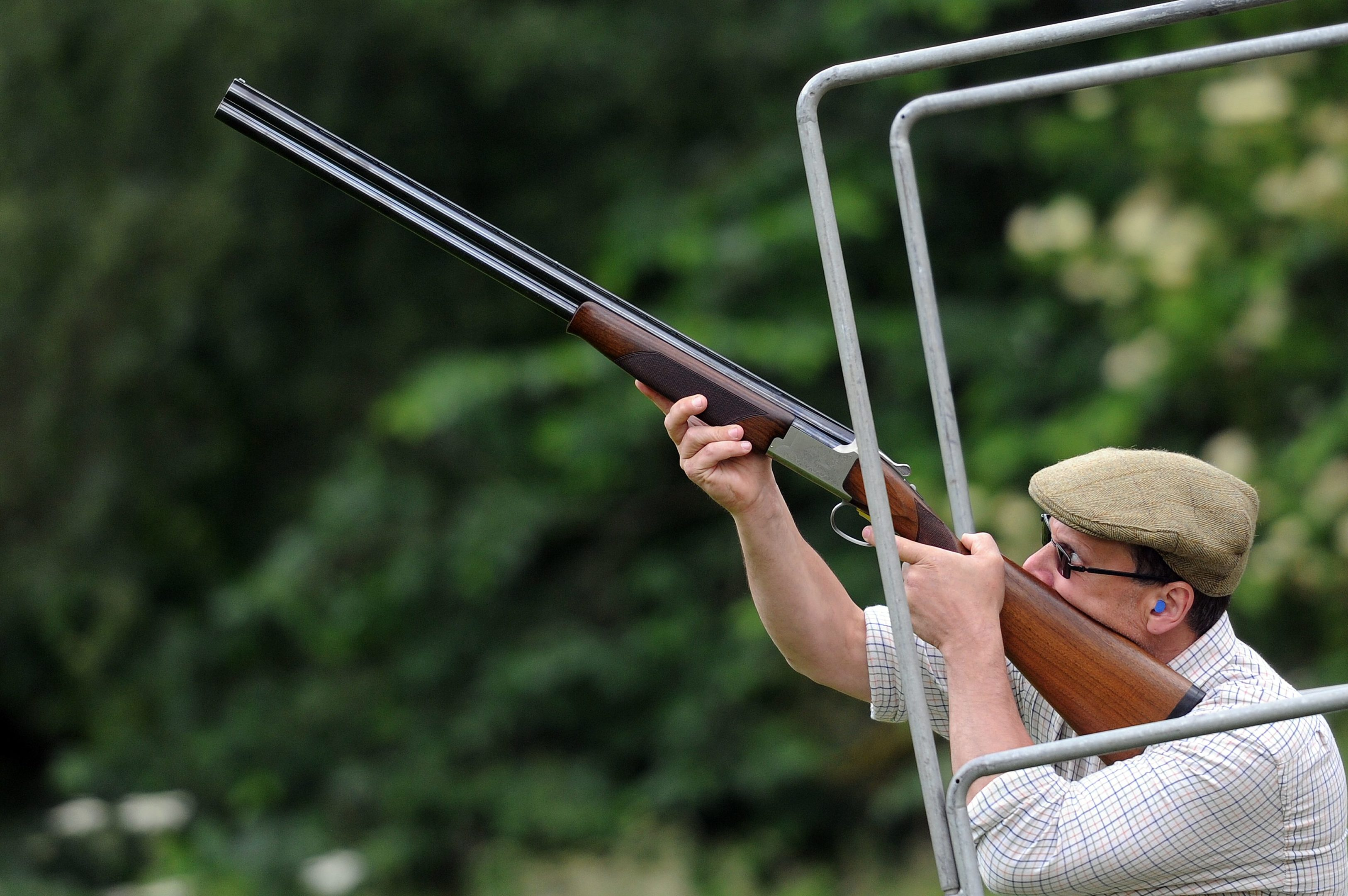 Clay pigeon shooting at last year's Scottish Game Fair.