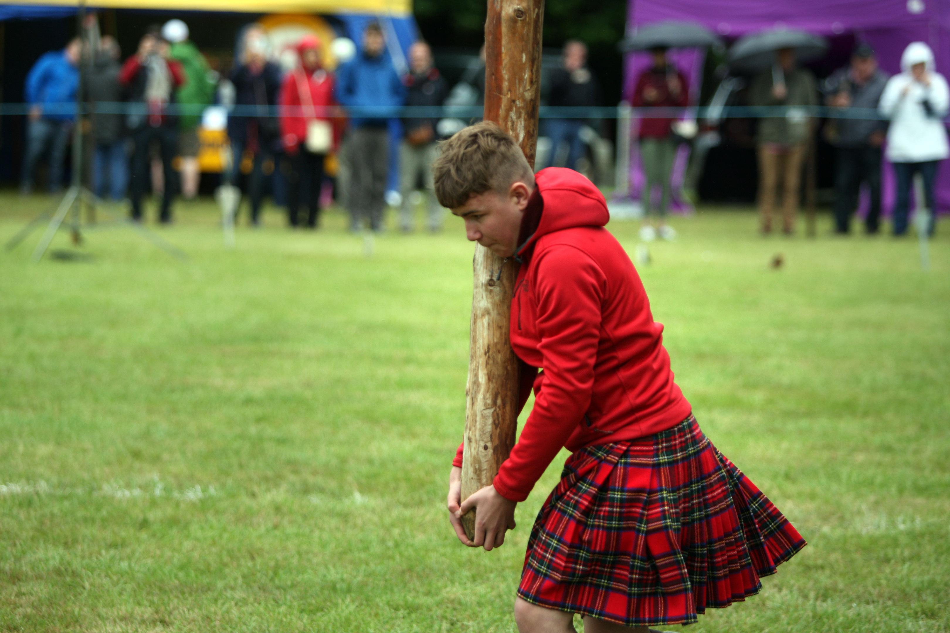 Strathmore Highland Games  at Glamis Castle