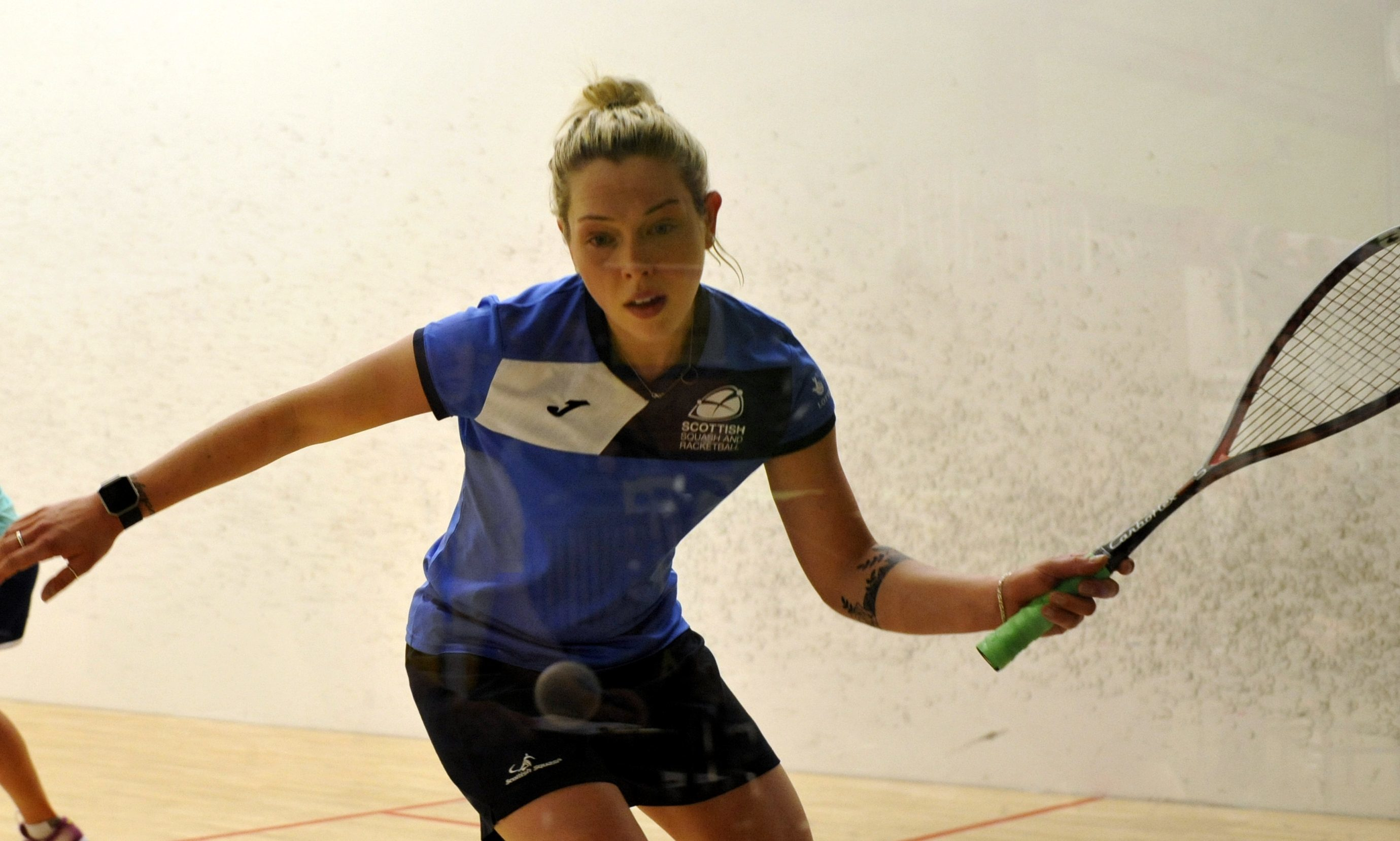 Lisa Aitken in action.