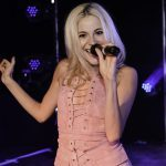 Pixie Lott performs at Dundee University graduation ball
