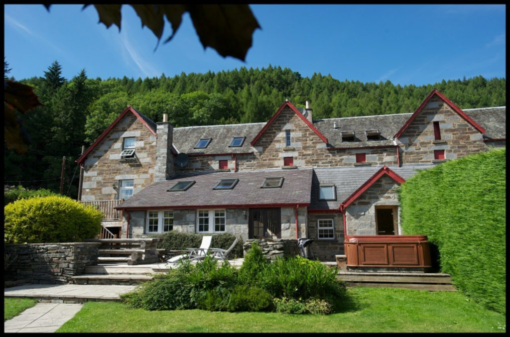 Stunning Mains of Taymouth in Kenmore took the top prize.