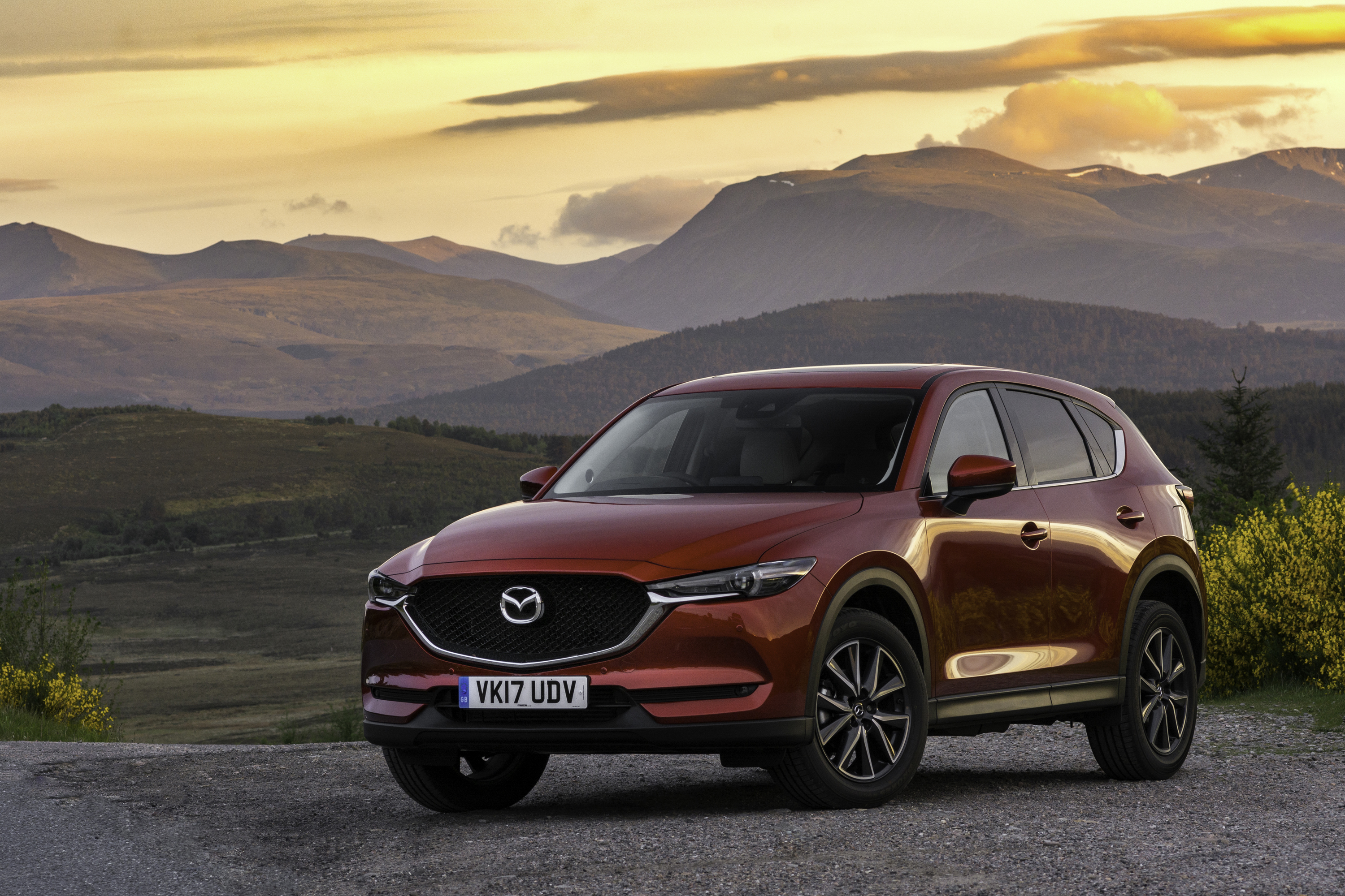 new mazda cx 5 is sleek and refined the courier. Black Bedroom Furniture Sets. Home Design Ideas