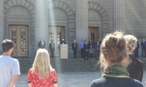 Minute's silence for Grenfell Tower victims is held in Dundee.