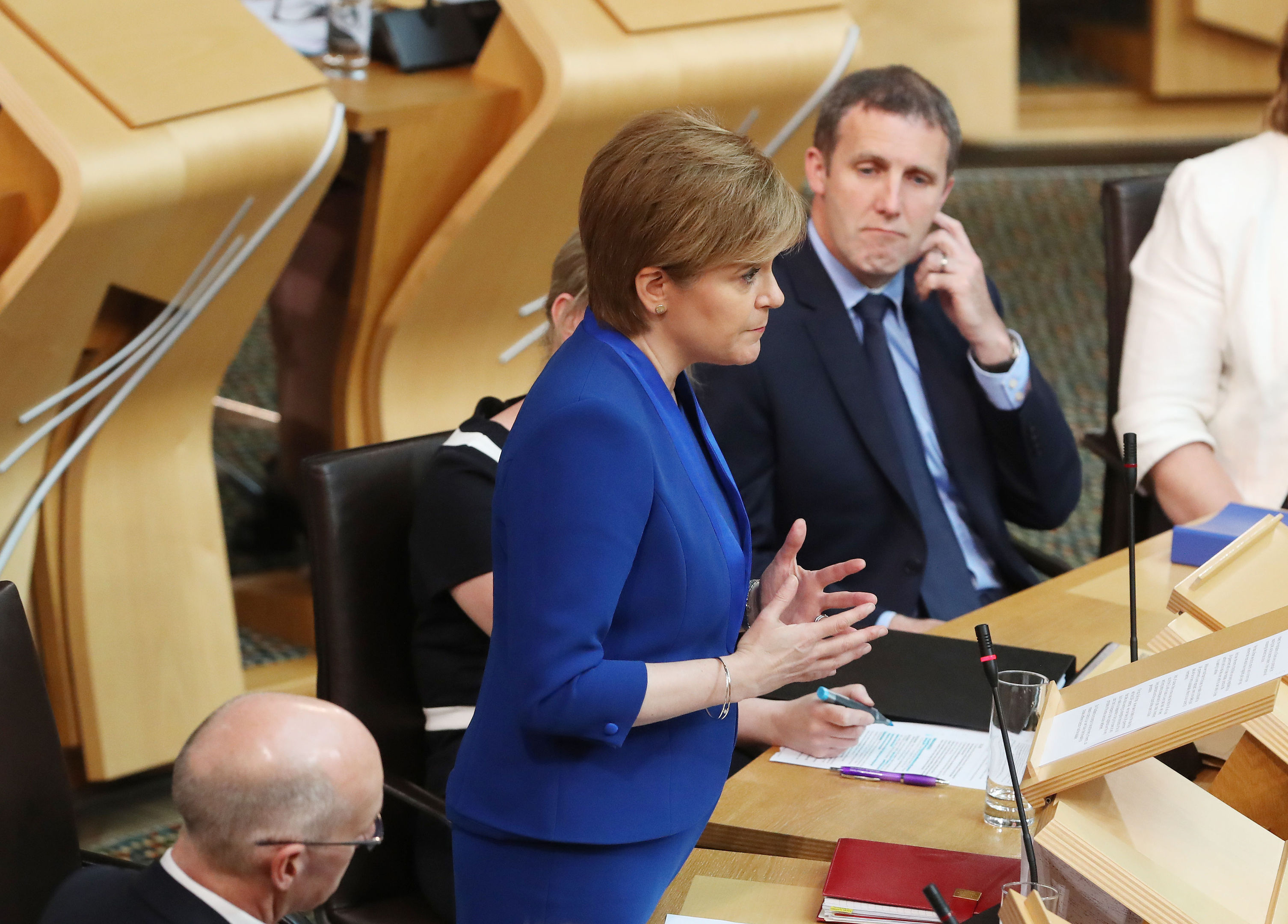 The First Minister has been reflecting on her plans for a second vote following the General Election.