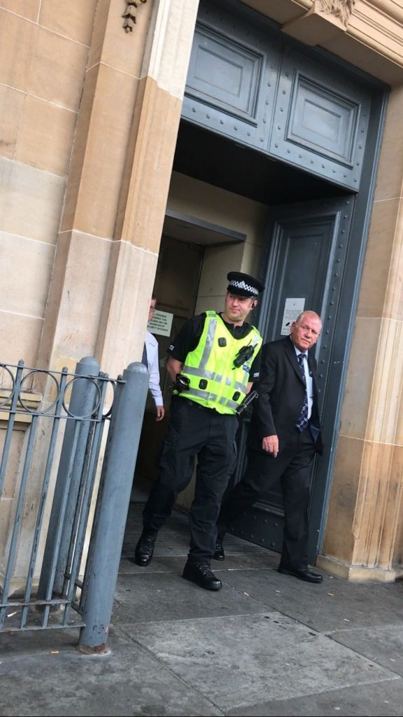 Reilly pled guilty to embezzling £60,000.