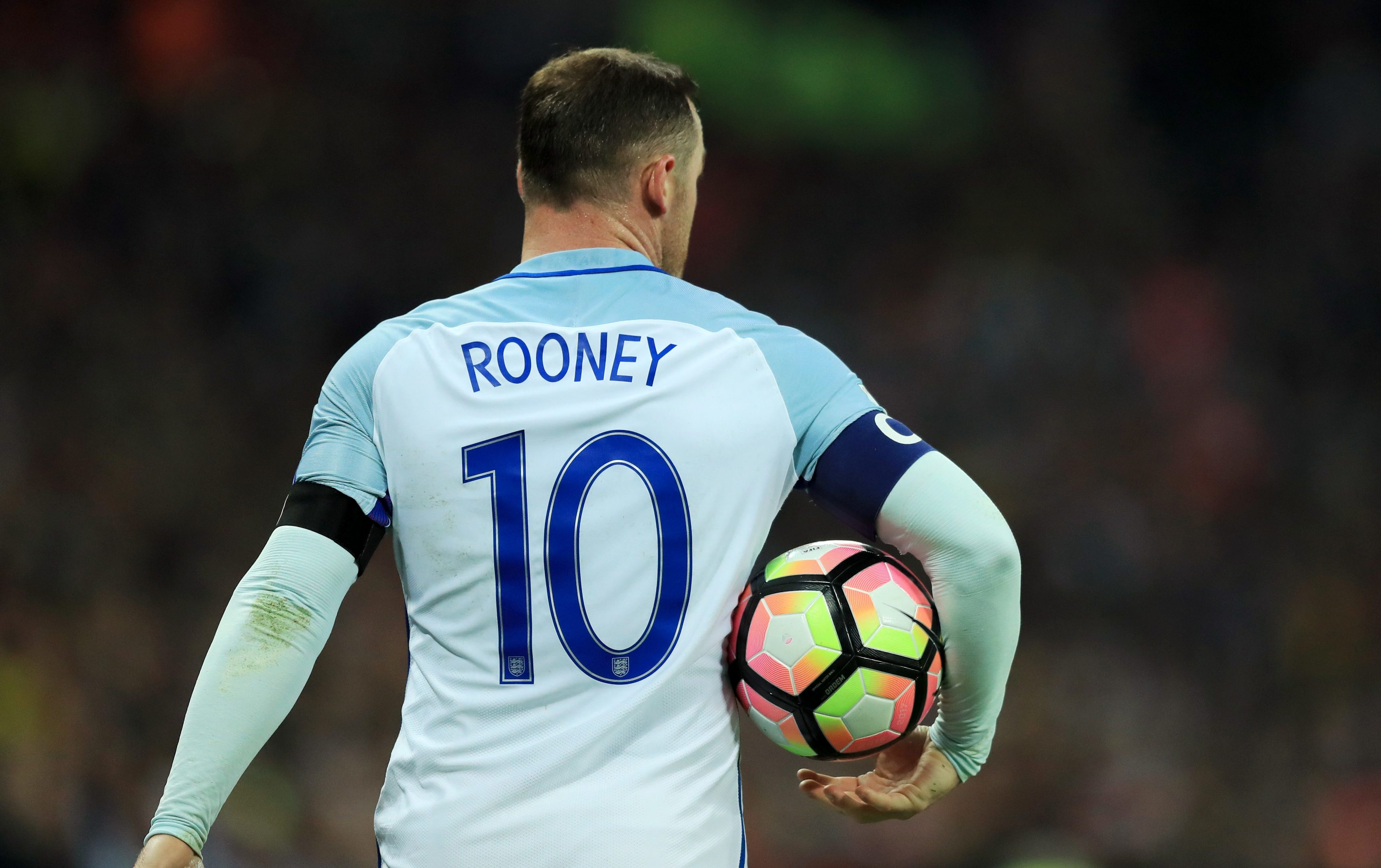 Wayne Rooney is one player Scotland will not have to worry about.
