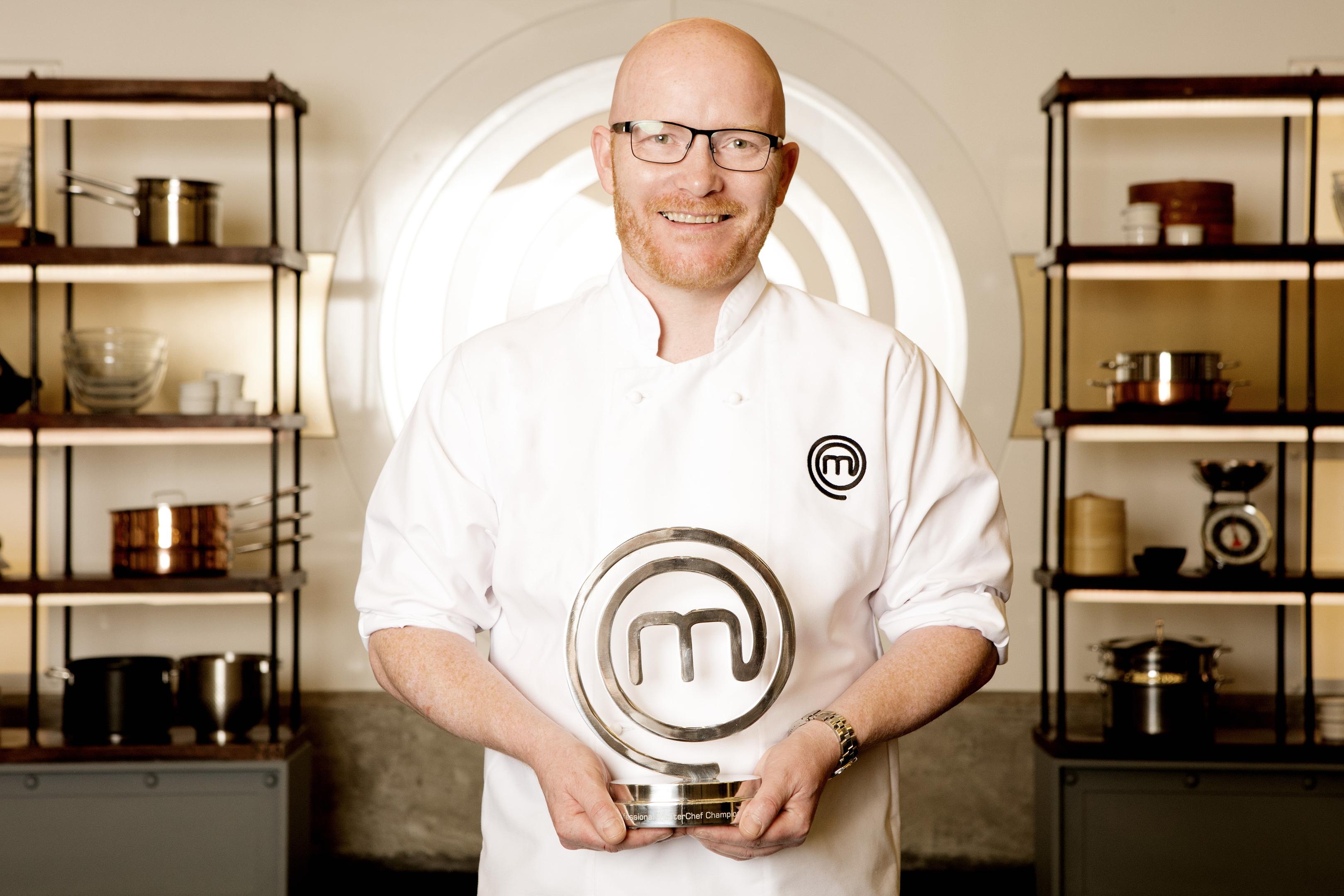 MasterChef: The Professionals 2016 winner Gary McLean.