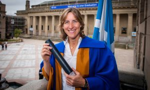 Olympian Katherine Grainger and former MI5 director-general awarded Dundee University honorary degrees