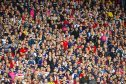 10/06/17 WORLD CUP QUALIFIER  SCOTLAND V ENGLAND  HAMPDEN PARK - GLASGOW  Scotland fans look on in anticipation