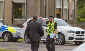 Armed police and helicopter called in following Gleneagles Hotel robbery