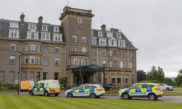 Jewellery store targeted in Gleneagles hotel robbery