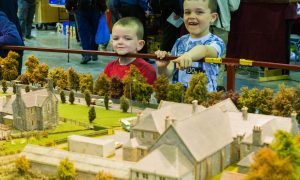 Painstaking detail revealed in creation of miniature model of Blair Atholl