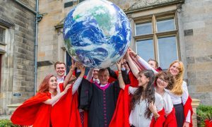 VIDEO: Monty Python legend Michael Palin puts St Andrews University honorary degree at 'top of tree'