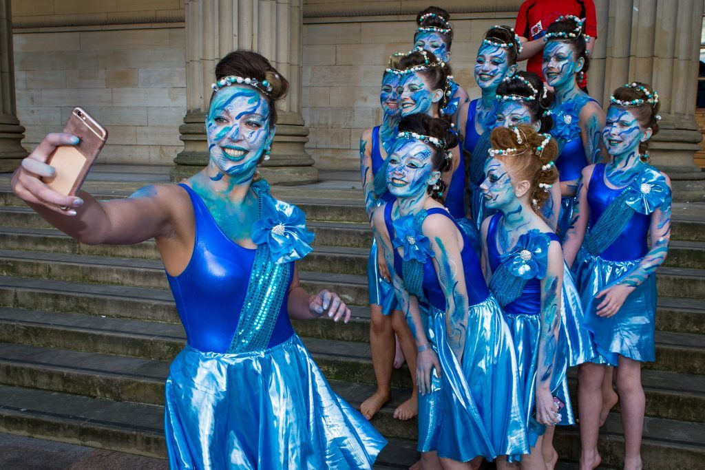 Fraserburgh Academy performers.