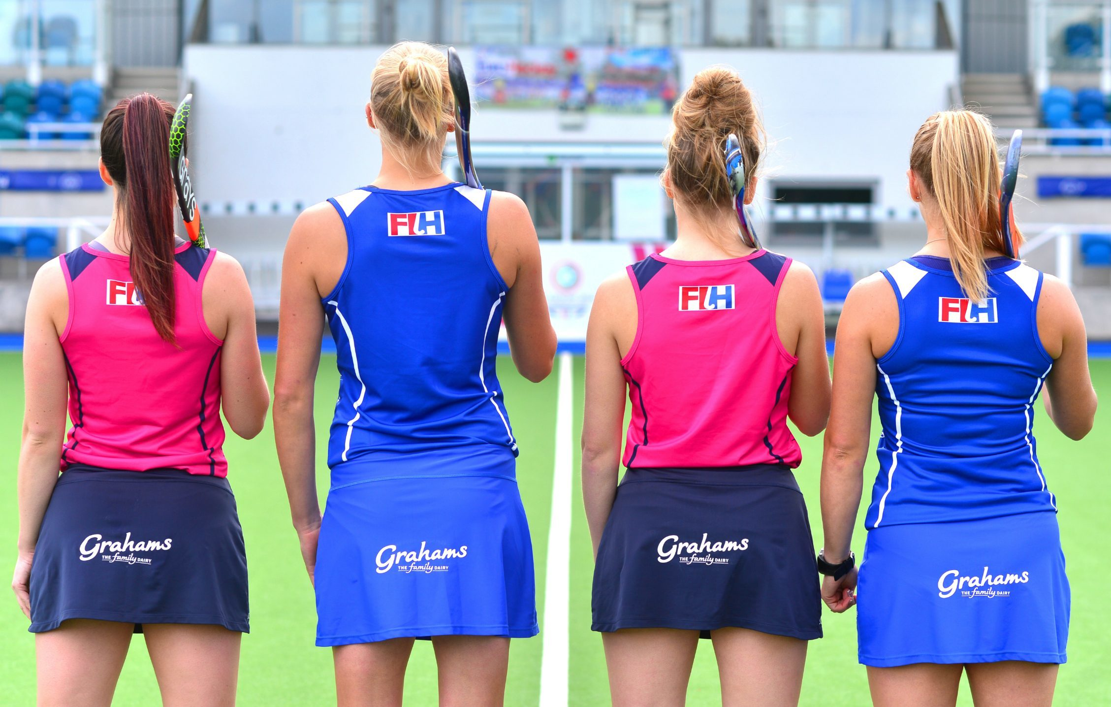 Scotland's Women's Hockey Team get right behind their new sponsors