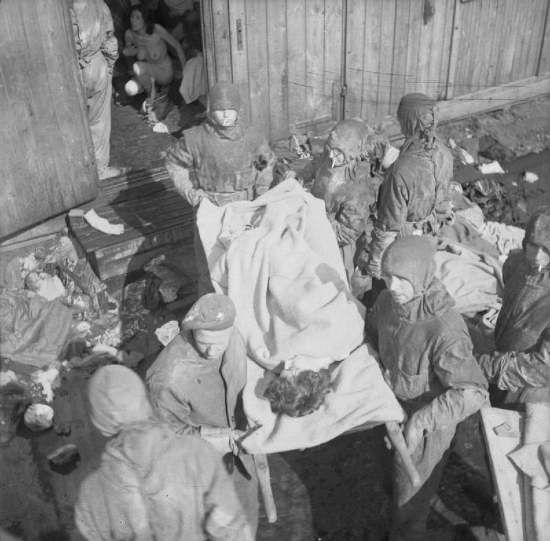 The liberation of Bergen-Belsen, April 1945.