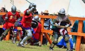 World's greatest knights to battle for supremacy at Scone Palace