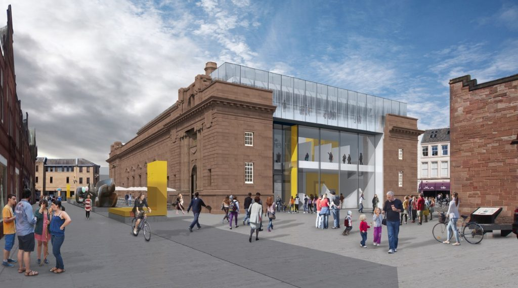 LDN's vision for Perth City Hall