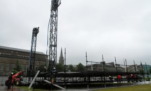 VIDEO: Stage is set for 11,000 Little Mix fans to descend on Dundee waterfront