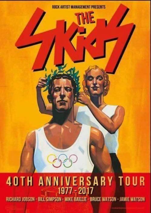 The Skids tour