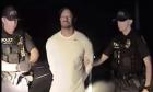 Tiger Woods is arrested.