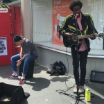 VIDEO: Watch Dundee buskers put on incredible acoustic and drum show in city centre
