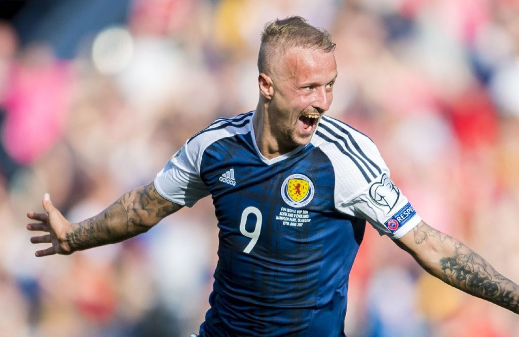 Leigh Griffiths after his second Hampden goal.